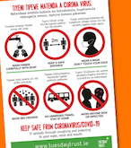 Our Keep Safe from Coronavirus Poster Image