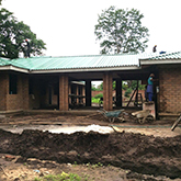 New Clinic Building at Ndi Moyo coming along well Image