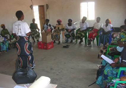 Land Lectures at Mchoka
