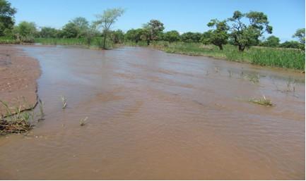 Mphunga Garden flooded