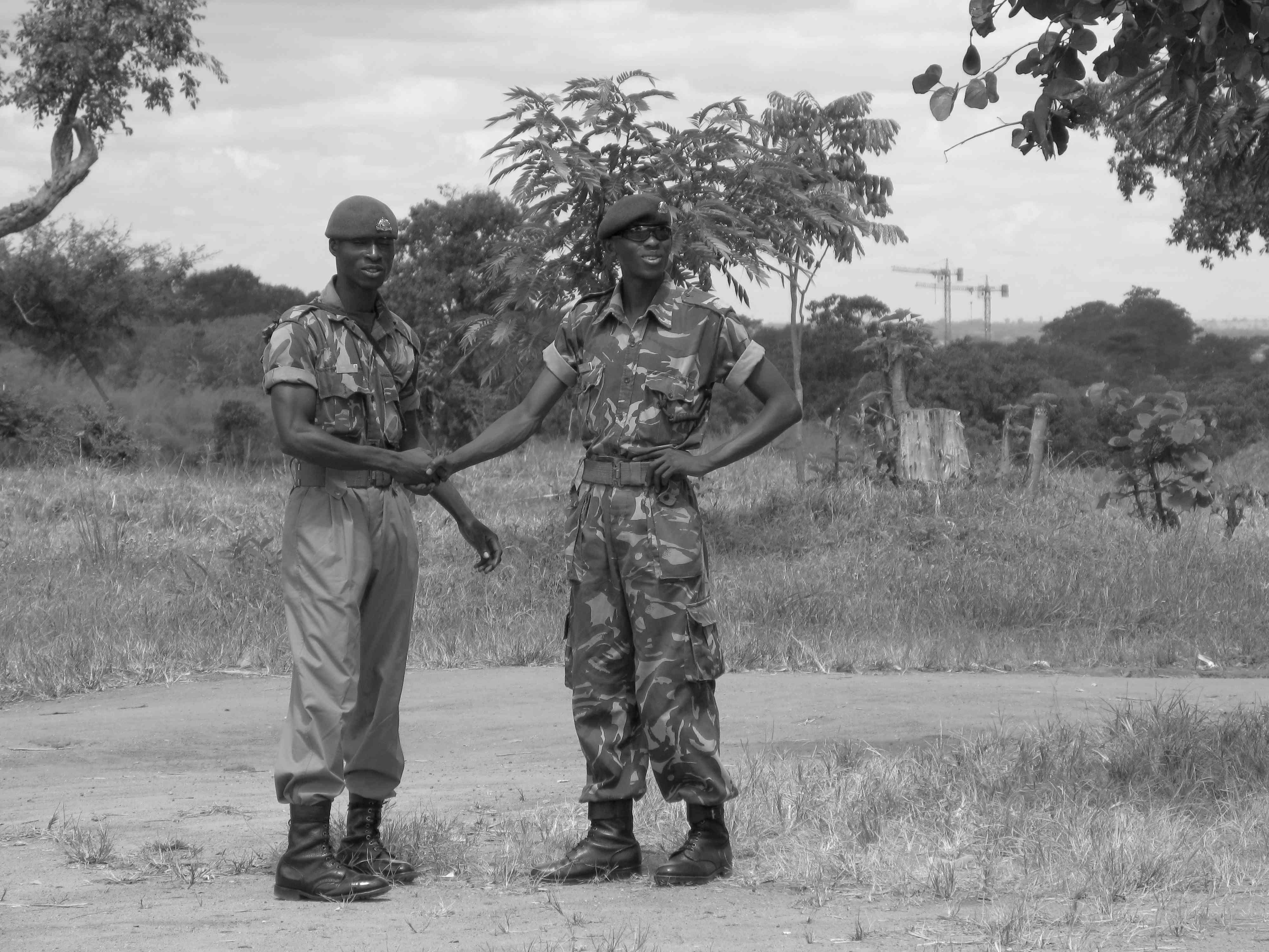Malawian Soldiers