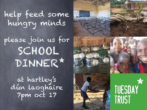 School Dinner Hartleys Oct 17