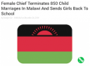 Female Chief Terminates 850 Child Marriages image