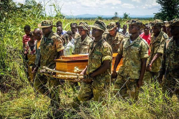 Geoffrey Umali funeral