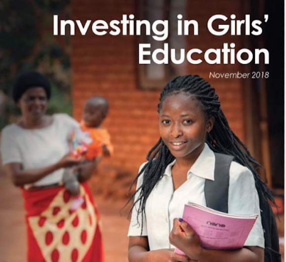 Investing in Girls' Education - a report
